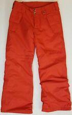 BURTON Dryride Red Ski/Snowboard Kids Ski PANTS  Size M