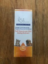 Full Spectrum Hemp oil for animals- CO2 extract - 100% organic - non GMO