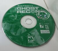 Tom Clancy's Ghost Recon PC CD Computer Game UbiSoft Vintage Rare