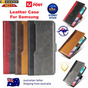 For Samsung Horizontal Flip Leather Case with Holder & Card Slots & Wallet