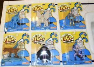 The Tick Series 1 Good Doers 1994                       Lot Of 6 Figures Bandai