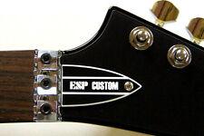 ESP TRUSS ROD COVER name plate for ESP LTD guitar ( B&W Custom )