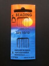 Pony Beading Needles #07854 - Size 10/12 - 6 Needles - Design-Surgery®