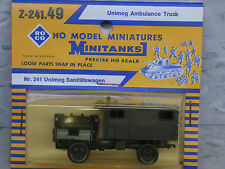 Roco Minitanks  (NEW) Modern West German Unimog Ambulance Truck  Lot #1585