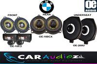 komplett Lautsprecher Satz BMW 3 Serie E90 E91 E92 E93 Promotion Front Heck