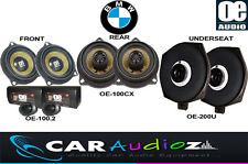 COMPLETE SPEAKERS SET BMW 3Series E90 E91 E92 E93 PROMOTION FRONT REAR UNDERSEAT