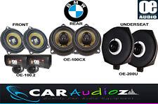 COMPLETE SPEAKERS SET BMW 3Series E90 E91 E92 E93 PROMOTION FRONT REAR UNDERSEAT