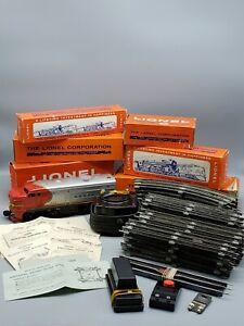 1962 SEARS PROMOTIONAL LIONEL POSTWAR MILITARY SET NO. 9656 SANTA FE ALCO DIESEL