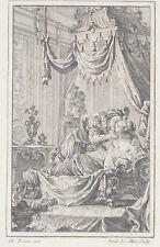 NOEL LE MIRE GRAVURE Contes La Fontaine EISEN Curiosa Erotica 1762