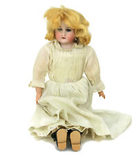 Antique German Bisque Head Doll Kid I Can Sleep Stamped Body 1904 Grand Prize 14