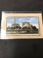 Postcard Lake Of The Wood Mills Portage La Laurie Man Five Roses Factory1913 C01