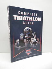 Complete USA Triathalon Guide Book Running Swimming Biking Human Kinetics
