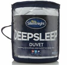 Deep Sleep 10.5 Tog Duvet 150084 Double White by Silentnight
