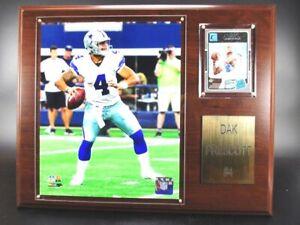 Dak Prescott Cowboys De Dallas Legno Murale 38cm, Placca Muro Picture NFL Calcio