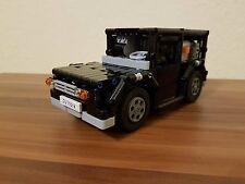 Bauanleitung instruction Auto für Transporter Eigenbau Unikat Moc Lego Technic