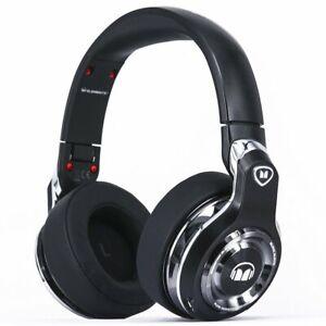 Monster Elements Bluetooth Wireless Over-Ear Headphones -Black Slate Sealed