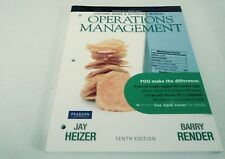 Lecture Guide and Activities Manual for Operations Management Flexible Edition …