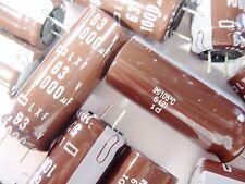 5 x 1000uf 63v 105 ° C Elko radial nippon japón #10e01#