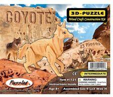 Holzbausatz Koyote - 3D Puzzle