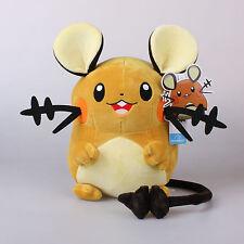 "New 10.6"" 27Cm Licensed Pokemon Dedenne Plush Toys Soft Stuffed Animal Doll"