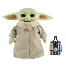Star Wars The Child Baby Yoda Mandalorian Real Moves Plush Mattel Remote Control