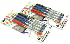 2 PACK 8 FINE POINT MARKERS INC® PENMARK™ ASSORTED INK PERMANENT