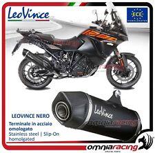 Leovince Nero Terminale scarico inox KTM 1290 super adventure R/S/T 2017>
