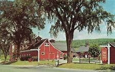 GREAT BARRINGTON, MA Massachusetts JENNIFER HOUSE GIFTS Roadside Chrome Postcard