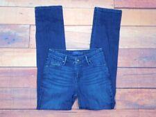 Levis Demi Curve Womens Dark Wash Classic Straight Leg Jeans Sz 2 M 26 W x 31 L