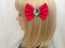 The grinch who stole Christmas hair bow clip rockabilly pin up girls dr suess