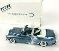 Danbury Mint 1953 1:24 Diecast Buick Skylark Convertible In Original Box