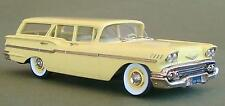 Brooklin Models 1958 Chevrolet Yeoman 4 Door Station Wagon  Cream