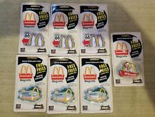 McDonalds Golden Arches Building Refrigerator Magnet Lot No.51334,3,1 All New