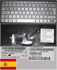 Clavier Qwerty Espagnol HP MINI 210 MINI 210-2000 SN5103  SG-38200-2YA Gris