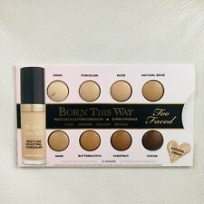 Too Faced Born This Way Concealer Sample New W/ 8 Shades