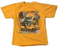 Vintage Pittsburgh Steelers NFL Football Graphic T Shirt Size M