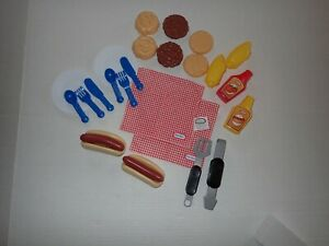 Little Tikes Backyard Barbeque Grillin' Goodies Play Food Toy Set