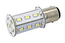 SEAWORLD LED Bulb Bayonet Socket Dimmable Warm White 10-30V 2.5W BA15d
