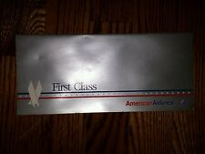 AMERICAN AIRLINES FIRST CLASS PREMIER TICKET JACKET
