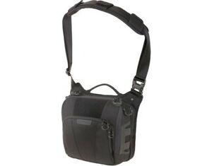 Maxpedition LCRBLK AGR LOCHSPYR Crossbody Shoulder Black Hunting Bag
