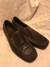 Florsheim Comfortech Driving Loafers Leather Chocolate Brown