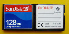 128 MB SanDisk CompactFlash CF Typ I Compact Flash SDCFB-128 128MB