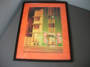 Mid-Century Modern Print of Hotel 1920 - MX Ferguson 5759 - Framed 19x25 - 244