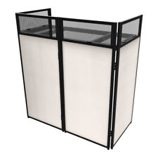 Ibiza DS30 110cm Wide DJ Booth Stand Disco Deck