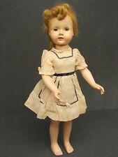 "Antique Vintage 19"" Effanbee Mechanical Walker Flirty Sleep Eye Doll"