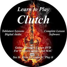 Clutch Guitar TABS Lesson CD 90 Songs + BONUS!!