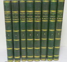 Histoire De France Par Anquetil, Novelle Edition Continuee Par Th.  Burette Jusq