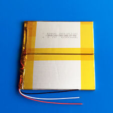 "3.7V 6000mAh Li po Battery For 7"" 9"" PDA PAD Tablet PC Laptop Nootbook 38116110"