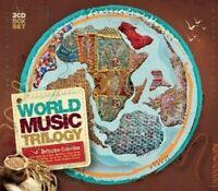 WORLDMUSIC TRILOGY 3 CD NEW LAIKSNE/EDITH PIAF/JAIME TORRES/OMEGA/+