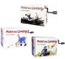Michel aus Lönneberga Spieluhr Minidrehorgel Michl war ein Lausejunge Kurbelwerk